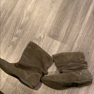 Nine West Shoes - Nine West grey ankle booties.